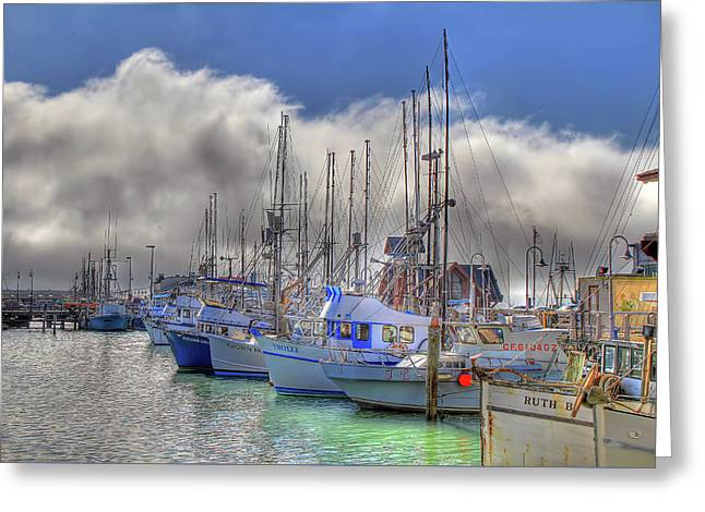 Greeting Card featuring the photograph Fisherman's Wharf by Donna Kennedy