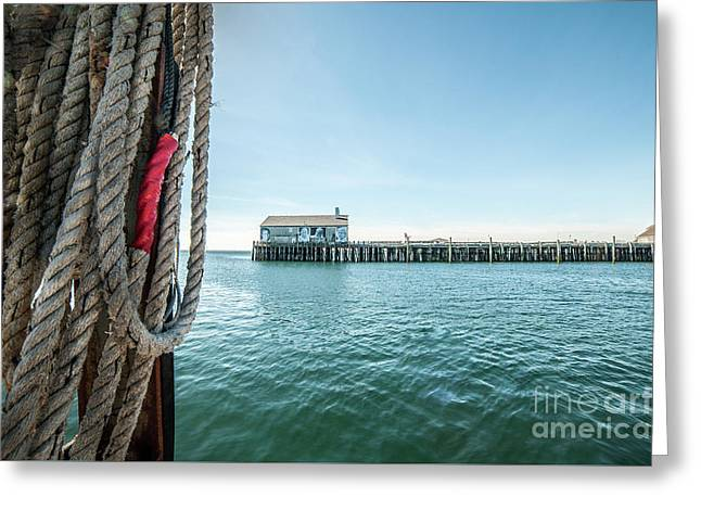 Fisherman's Wharf Greeting Card