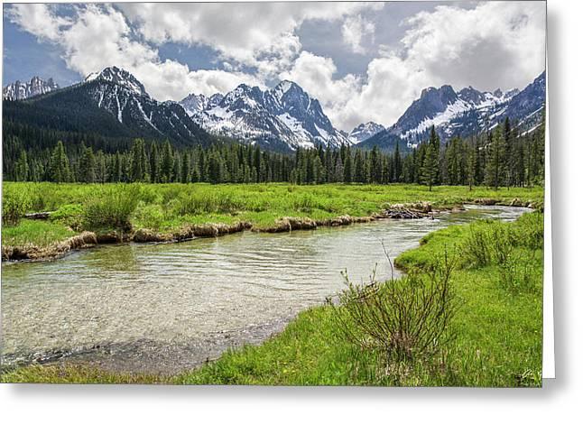 Fishhook Creek Meadow Greeting Card
