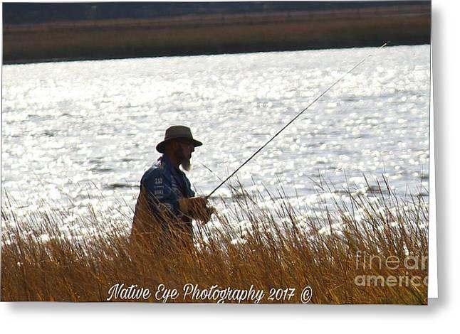 Fishin Greeting Card