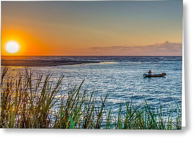 Fishing At Pawleys Greeting Card