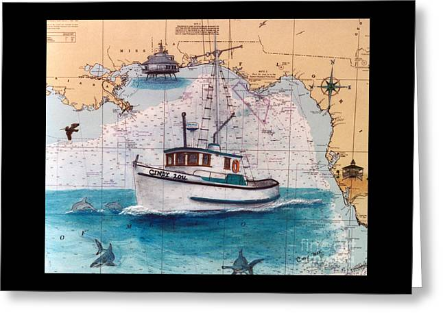 Nautical Charts Greeting Cards (Page #8 of 14) | Fine Art