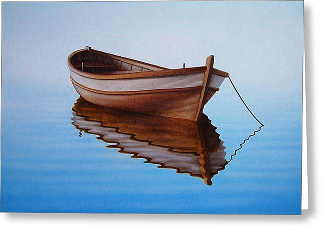 Fishing Boat I Greeting Card by Horacio Cardozo