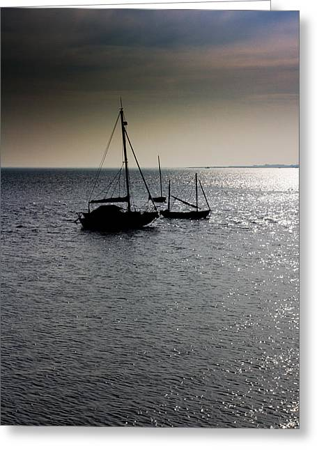 Fishing Boats Essex Greeting Card