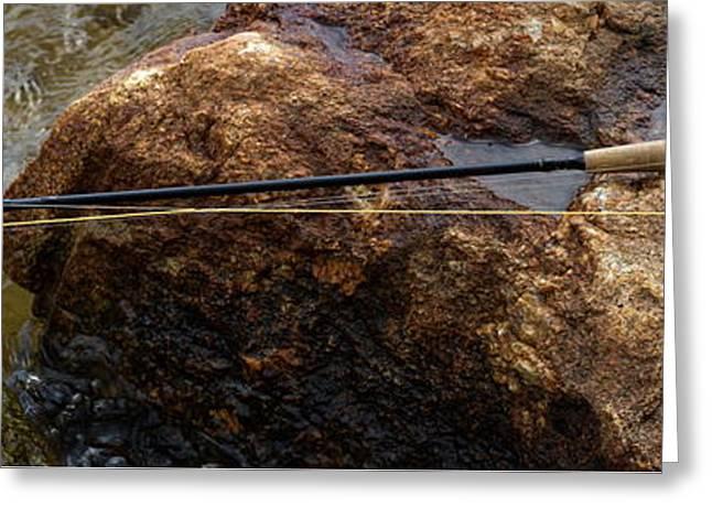 Fishing Greeting Card by Bob Orsillo