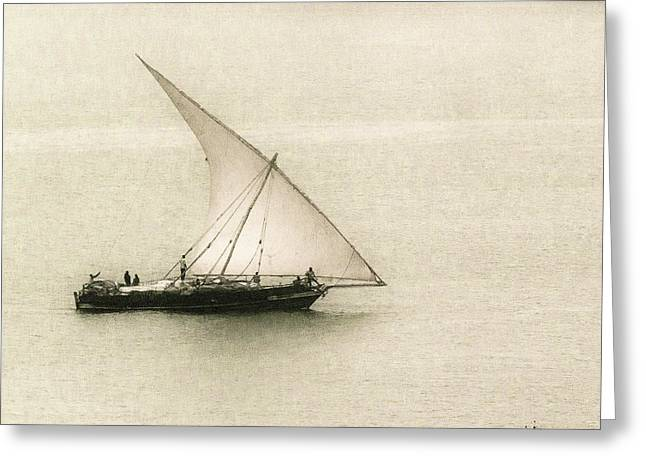 Fishing Dhow Greeting Card