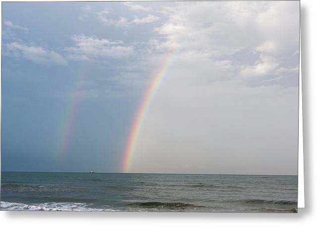 Fishing For A Pot Of Gold Greeting Card