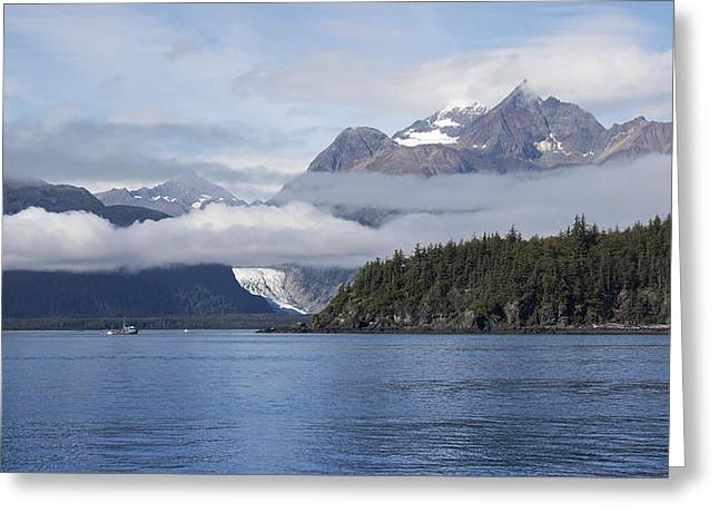 Fishing In Southeast Alaska Greeting Card