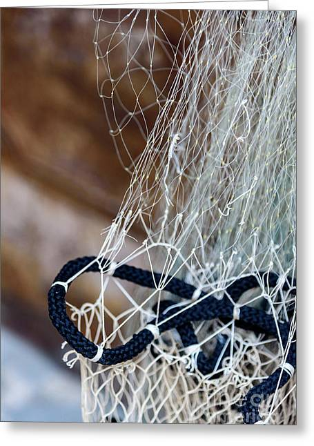 Fishing Net Details - Rovinj, Croatia Greeting Card