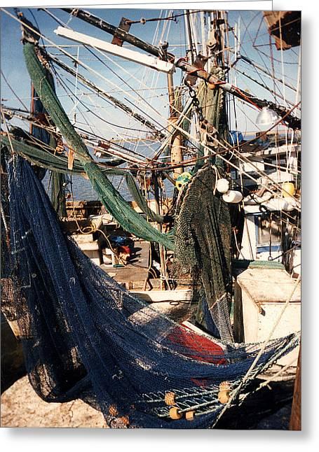 Fishing Nets Greeting Card