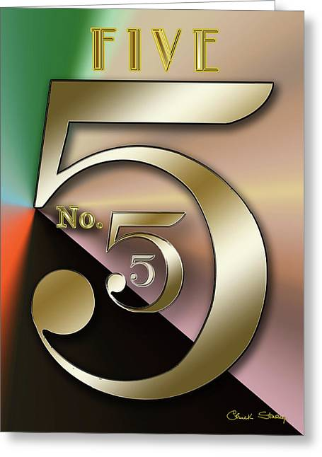 Five 2 Greeting Card