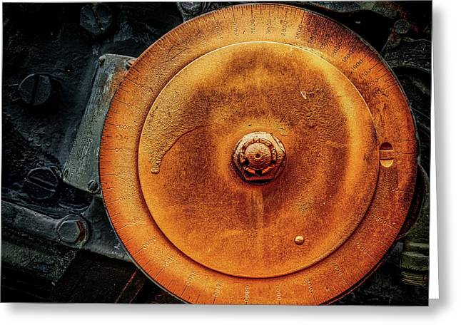 Five Inch Bore Greeting Card by Bob Orsillo