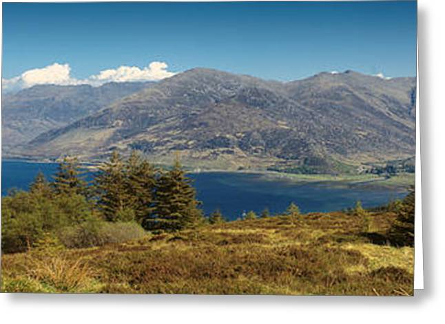 Five Sisters Of Kintail Greeting Card by Donald Buchanan