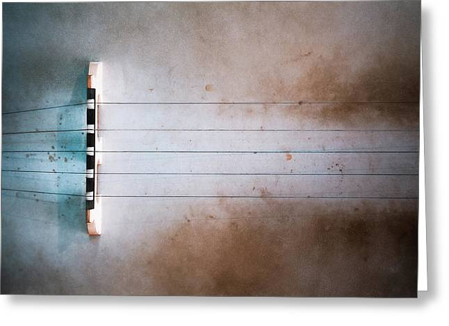 Five String Banjo Greeting Card by Scott Norris