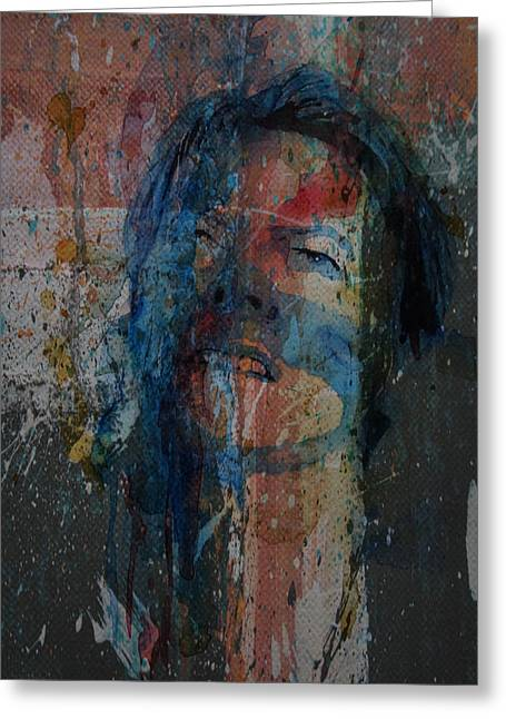 Five Years Greeting Card by Paul Lovering