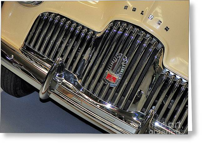 Fj Holden - Front End - Grill Greeting Card by Kaye Menner