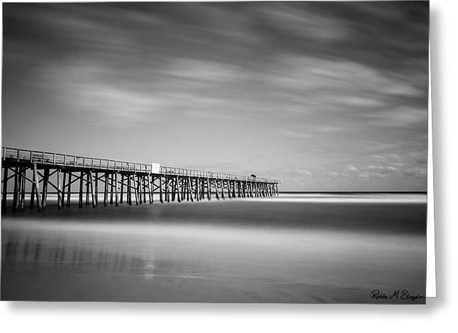 Flagler Beach Pier Greeting Card