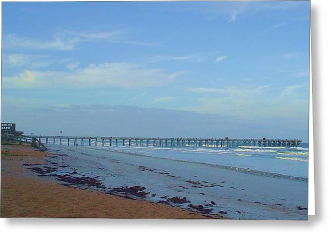 Flagler Morning Greeting Card