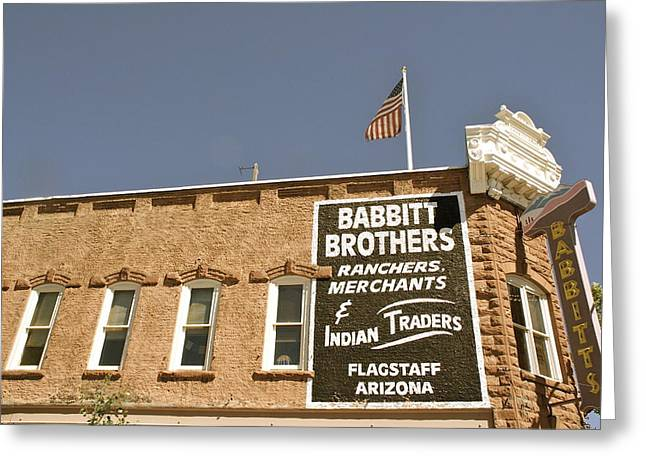 Flagstaff Babbitts Greeting Card by Dietrich Sauer