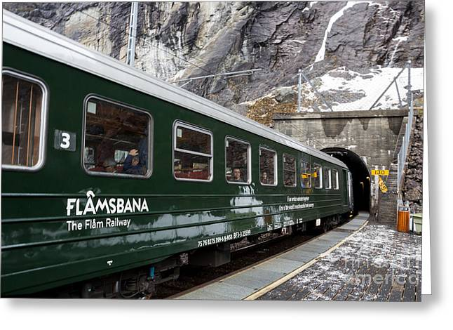 Flam Railway Greeting Card