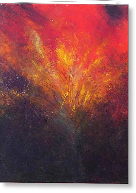 Flame Within Greeting Card