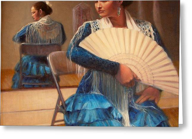 Flamenco 1 Greeting Card by Donelli  DiMaria