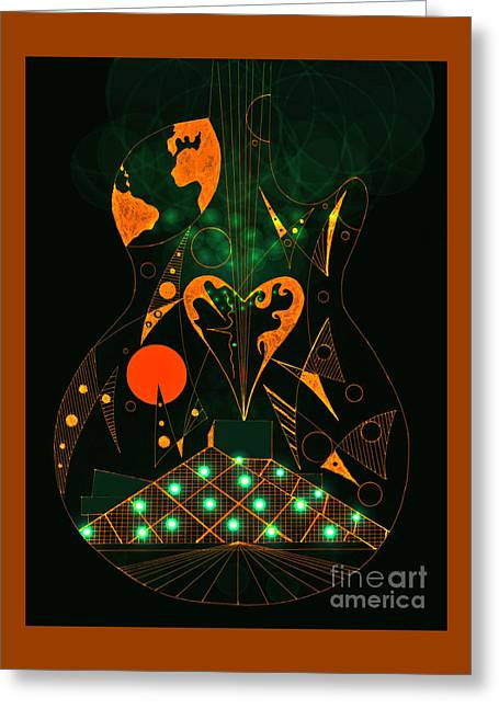 Flamenco Greeting Card by Jose Vasquez