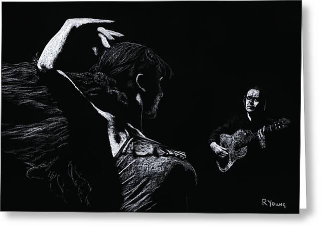 Flamenco Recital Greeting Card