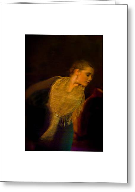Greeting Card featuring the photograph Flamenco Series 23 by Catherine Sobredo