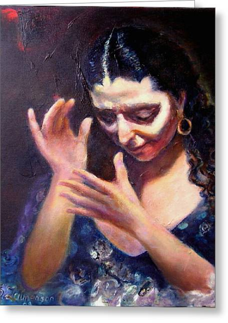 Flamenco Soul Greeting Card