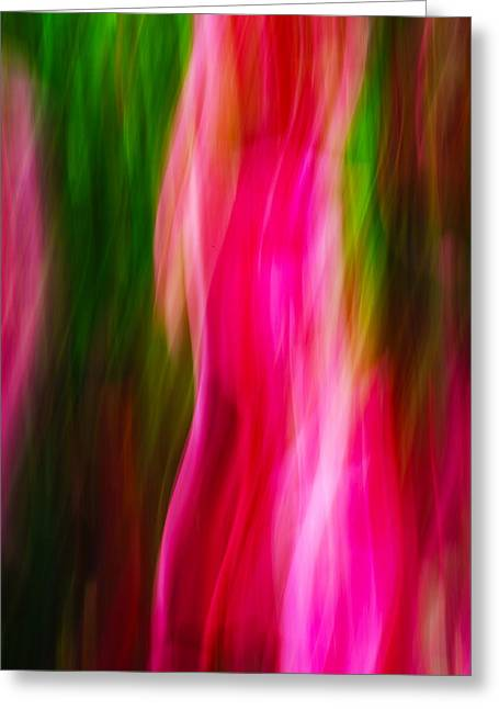 Flames Of Passion Greeting Card
