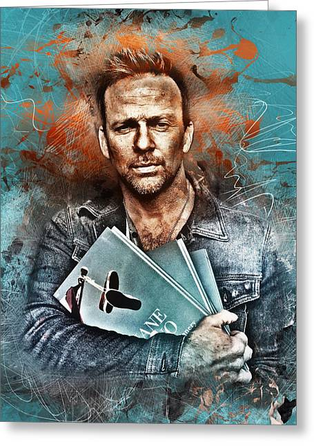 Flanery's Love Story Greeting Card