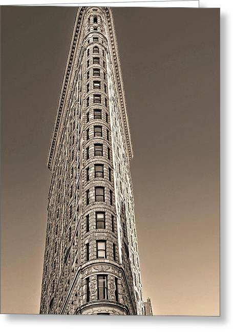 Flat Iron Building New York City Greeting Card