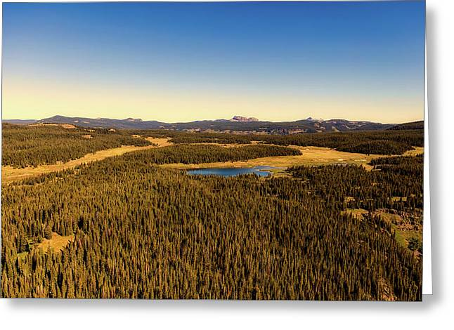 Flat Tops Wilderness Area - Colorado Greeting Card