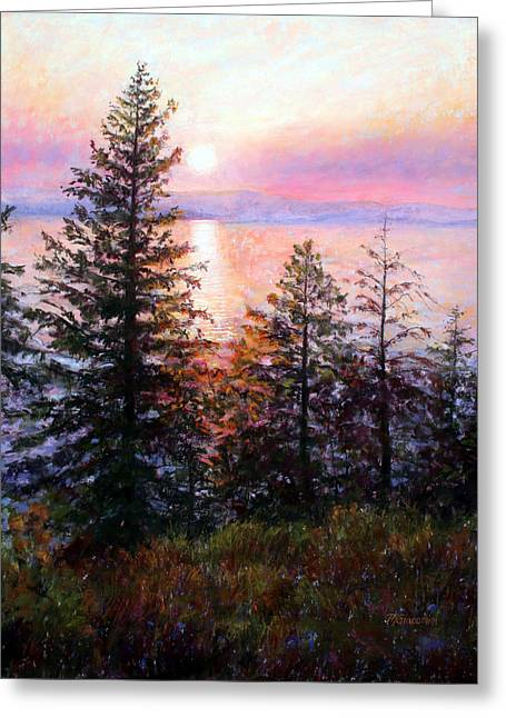 Flathead Lake Greeting Card