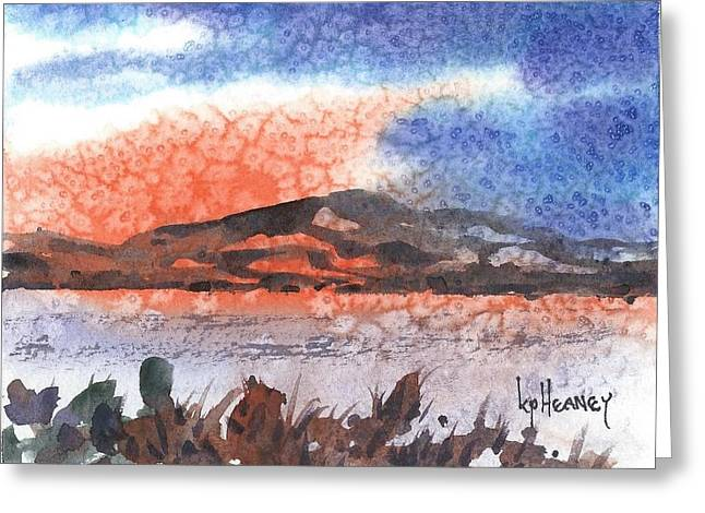 Flathead Lake Montana Greeting Card by Kevin Heaney