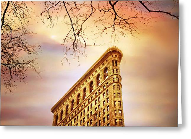 Flatiron Framing Greeting Card by Jessica Jenney