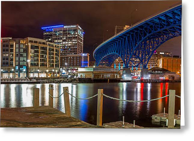 Flats East Bank Greeting Card by Frank Cramer