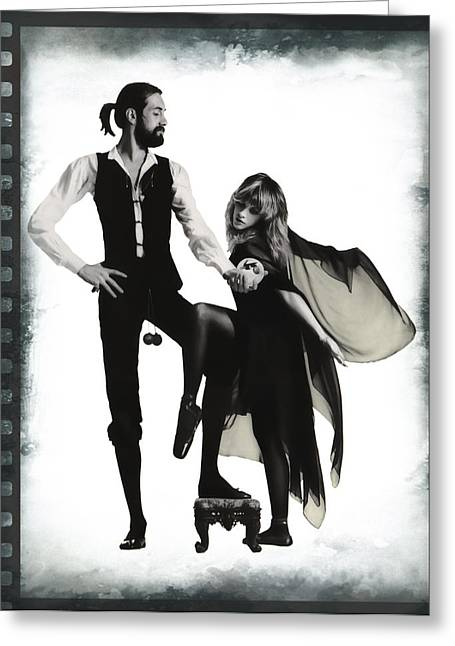 Fleetwood Mac 35mm Greeting Card by Daniel Hagerman