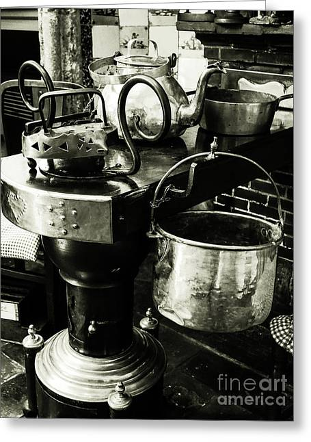 Flemish Kitchen Greeting Card by Lexa Harpell