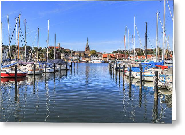 Flensburg - Germany Greeting Card by Joana Kruse