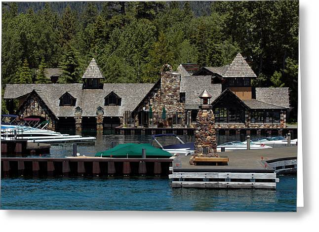 Fleur De Lac Mansion The Godfather II Greeting Card