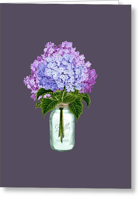 Fleur D'hortensia Greeting Card