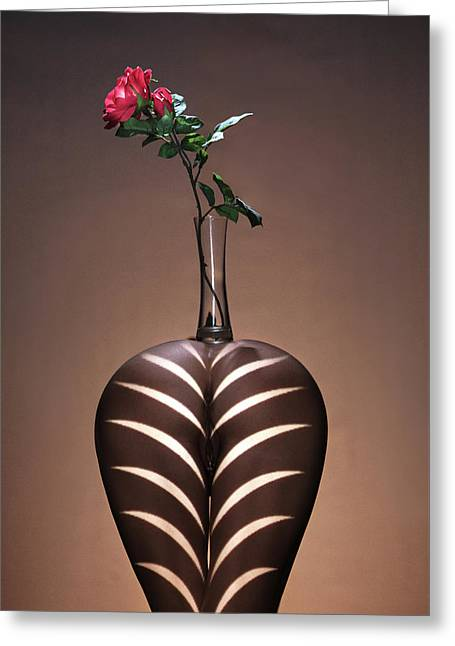 Fleur Sur Le Vasse Greeting Card