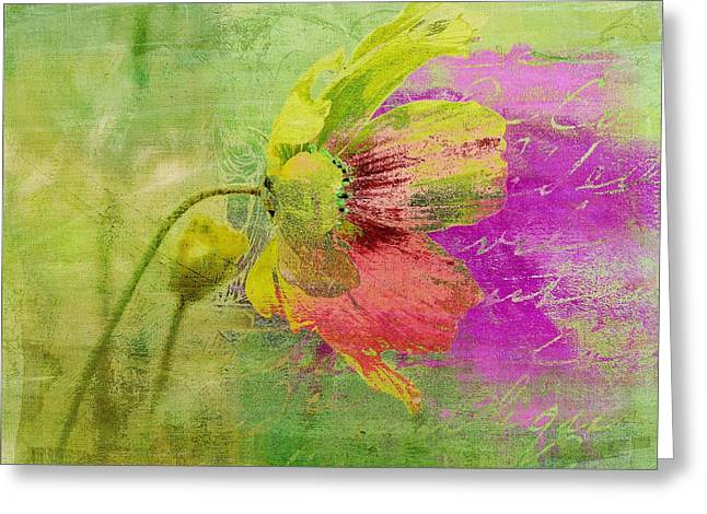 Fleurina - 208071067cbt3c Greeting Card by Variance Collections
