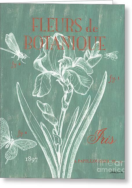 Fleurs De Botanique Greeting Card by Debbie DeWitt