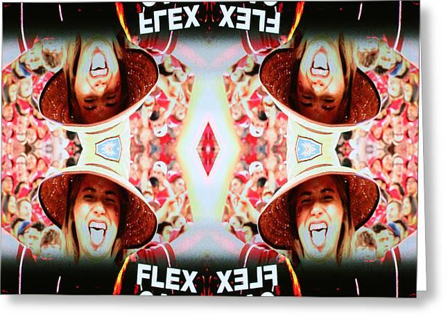 Flexcam 3 Greeting Card
