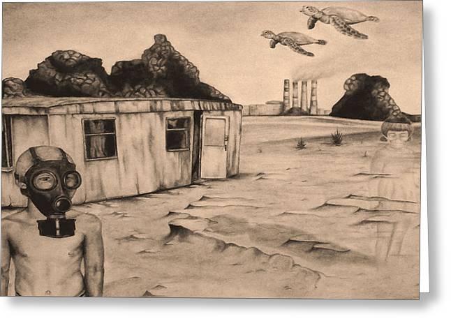 Flight Of The Sea Turtles Greeting Card by Phil Spaulding
