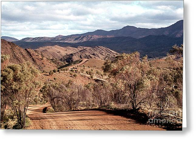 Flinders Ranges 01 Greeting Card by Rick Piper Photography