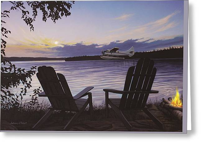 Float Plane Greeting Card